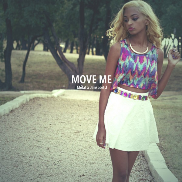 Melat MOVE ME EP (FRONT)