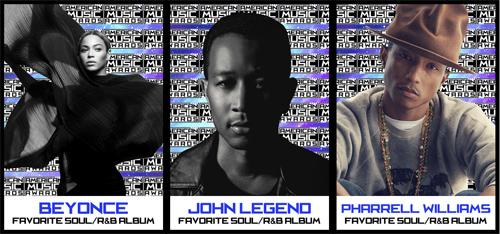 Beyonce-John-Legend-Pharrell-AMAs