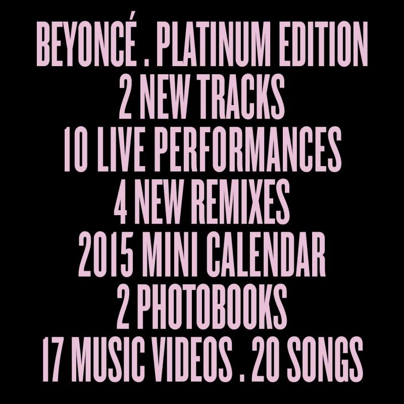 Beyonce Platinum Edition 2