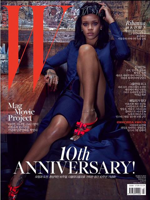 Rihanna W Korea 2