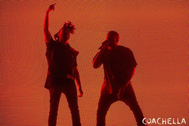 The Weeknd Kanye West