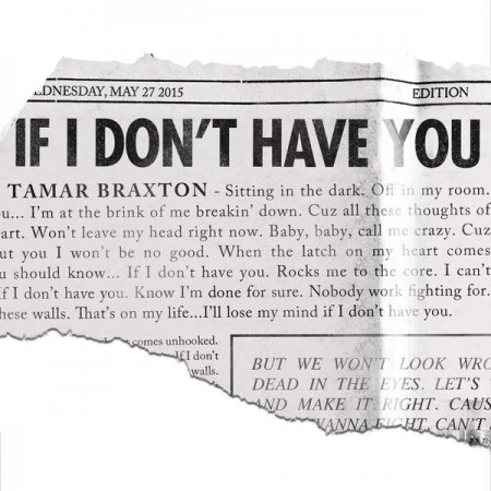 Tamar Braxton If I Don't Have You