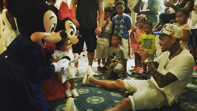 Chris Brown Royalty Disney 3