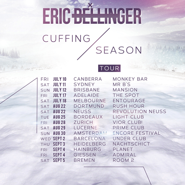 Eric Bellinger Tour Dates