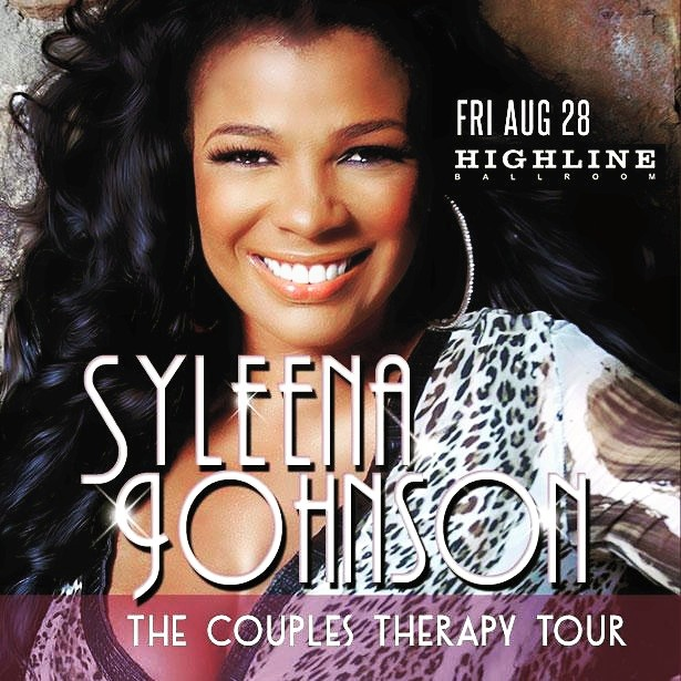 Syleena Johnson - Couples Therapy - NYC - 10-28-15