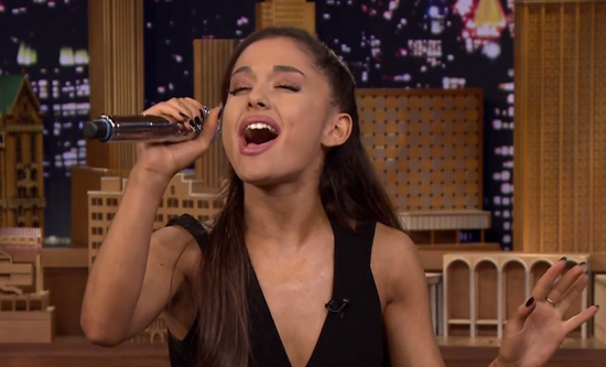 Ariana-Tonight-Show