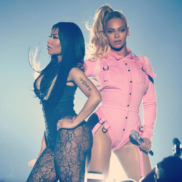 Beyonce Nicki Tidal Concert