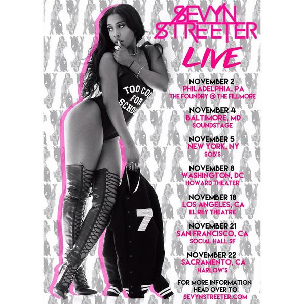 Sevyn Tour