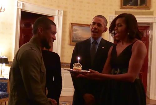 Usher-Obamas