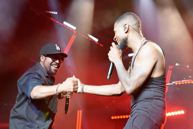 Usher, Ice Cube