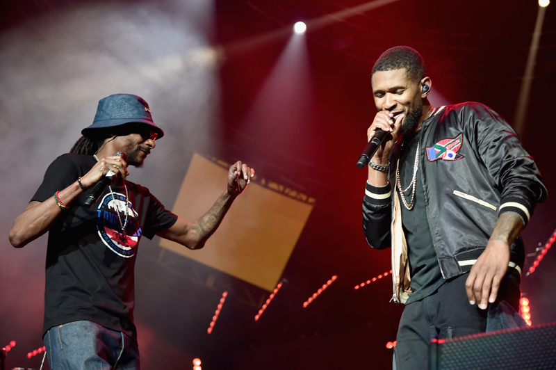 Usher, Snoop Dogg
