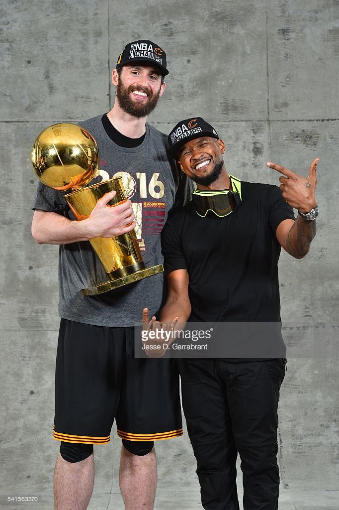 Usher NBA Finals 541563370