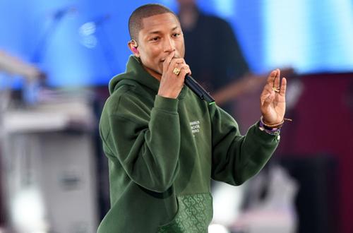Pharrell Yellow Lights