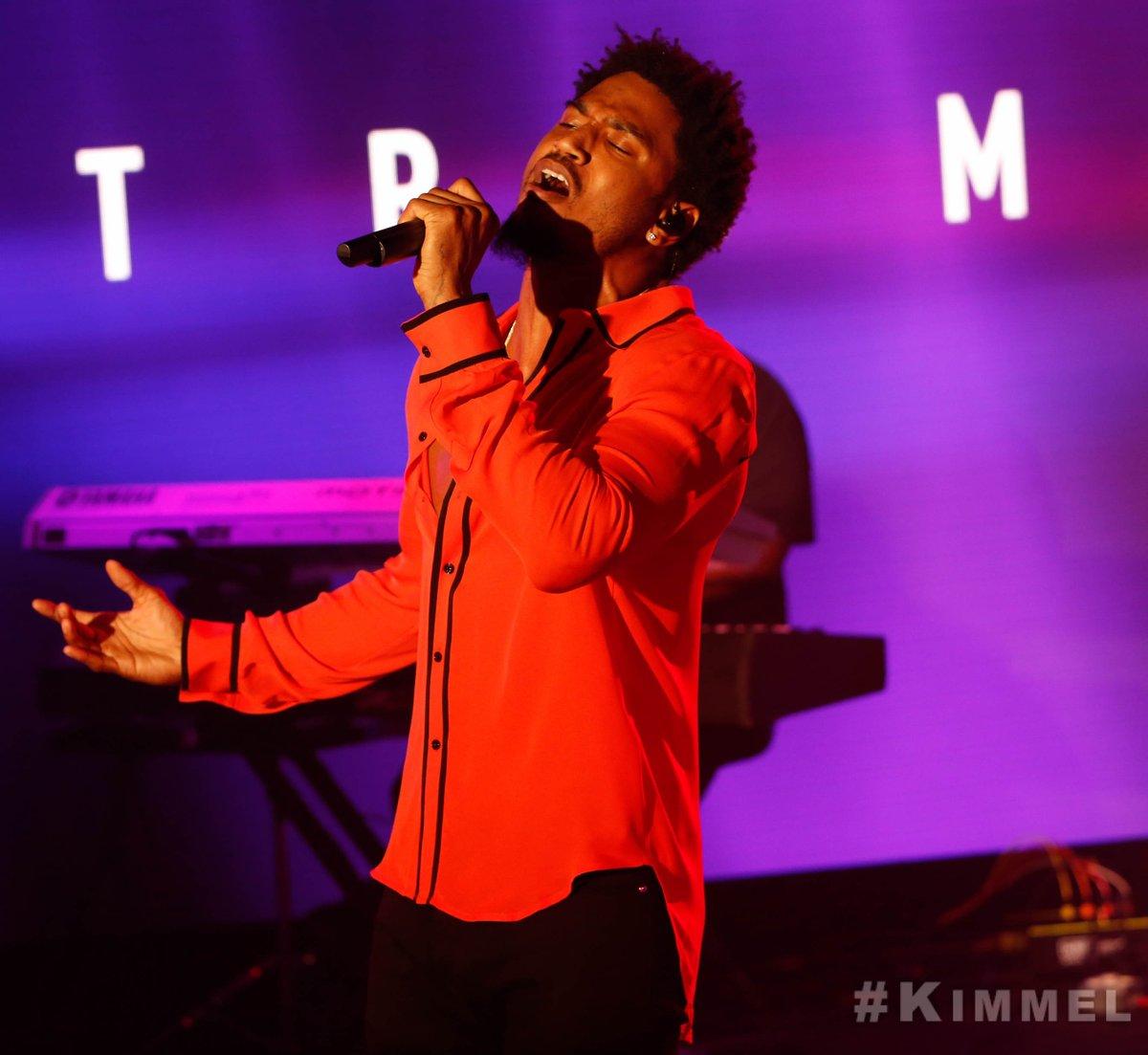 Trey Songz Jimmy Kimmel