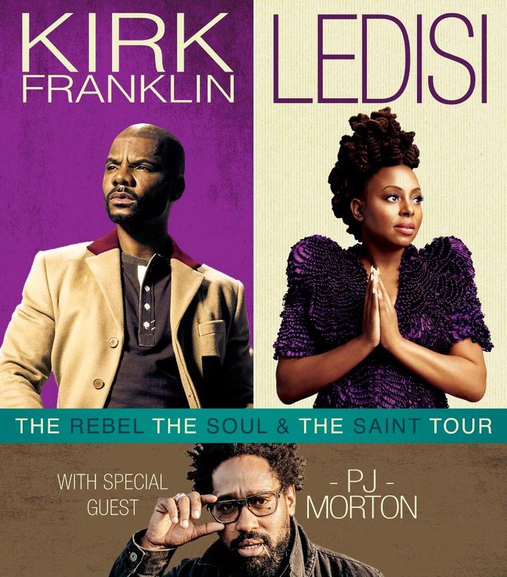 Kirk Franklin Ledisi Tour