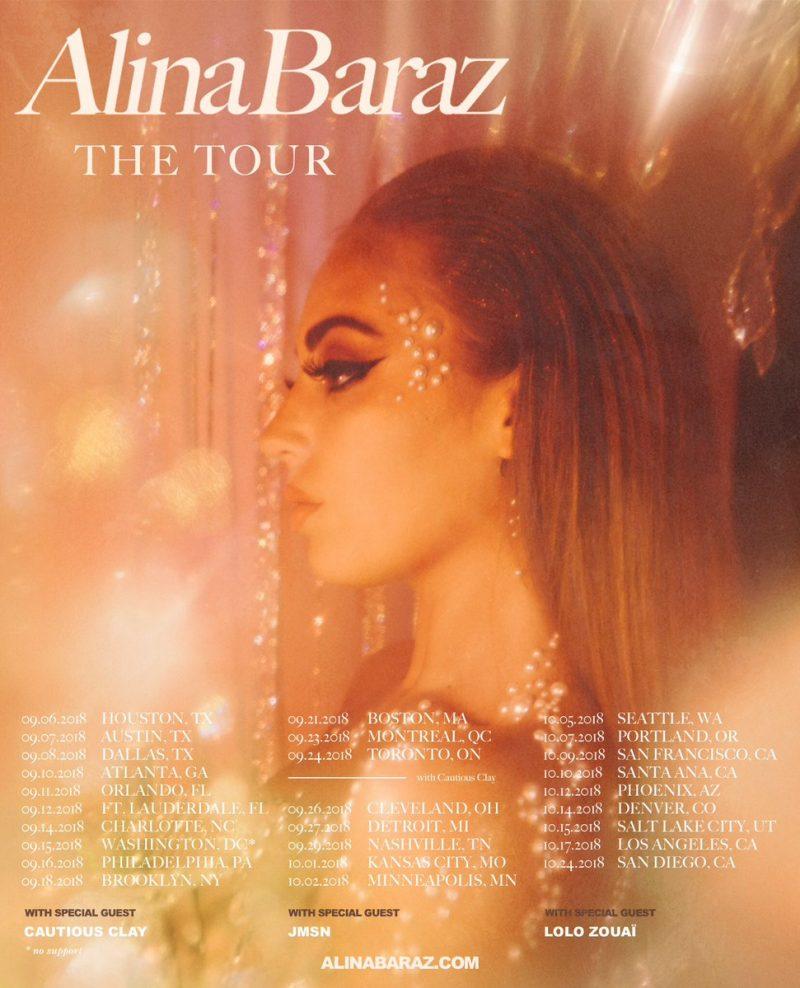 Alina Baraz Tour Dates