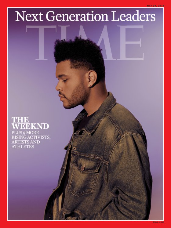 The Weeknd Time Cover