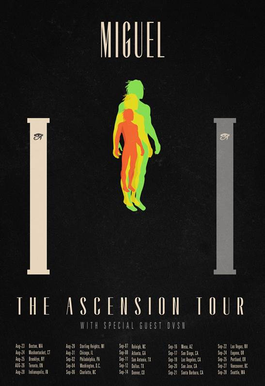 Miguel Ascention Tour